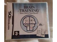 DS Brain Training Game