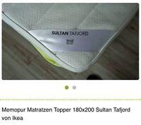 """""""CLEAN"""" 3"""" IKEA mattress topper"""