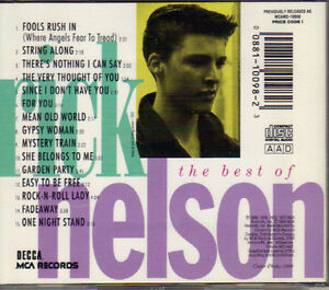 Rick Nelson - The Best of Rick Nelson (1963-1975) West Island Greater Montréal image 2