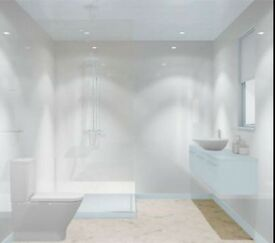 Wet wall panels kitchen bathroom 100% waterproof. Wetwall only £50!!