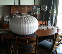 Nelson Saucer Bubble Ceiling Lamp- Large-Mid Century Modern