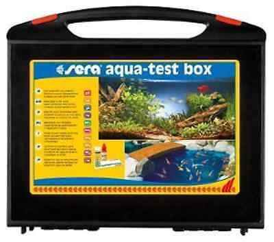 Sera Aqua-Test Box (+Cu) Testlabor Testkoffer Süßwasser m. Reagenzien Wassertest