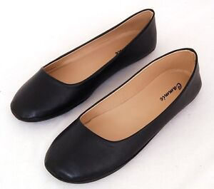 Womens Ballet Flats Casual Ballerina Shoes Work or Play Casual Comfort Shoes NEW