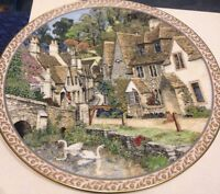 "Royal Worcester Collectible Plate, ""Castle Combe"""