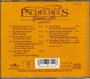 Johann Pachelbel - Greatest Hit (Canon in D) West Island Greater Montréal image 2