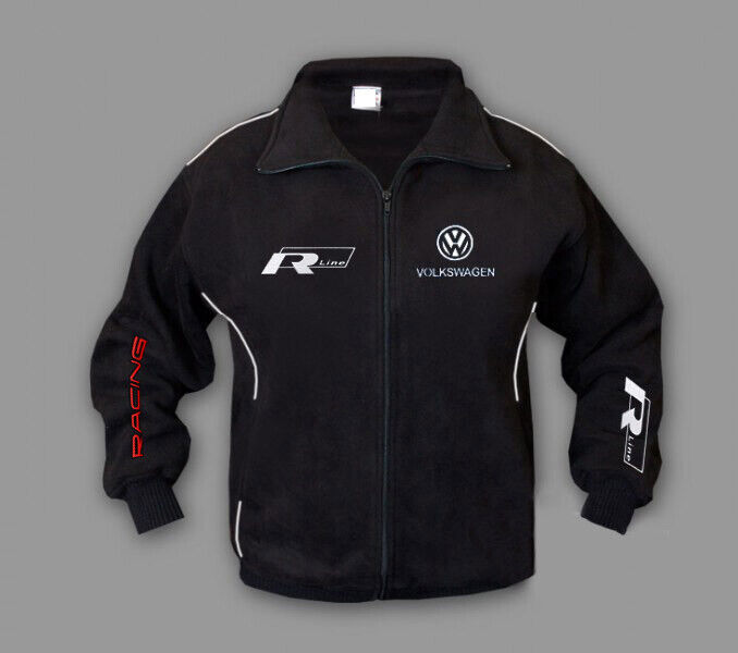 Men/'s new jacket Volkswagen R Line bomber jacket with quality embroidered logos