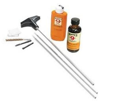 Hoppes Gun Hunting Rifle Cleaning Kit 22-.225 Clamshell Case Aluminum Rods NEW