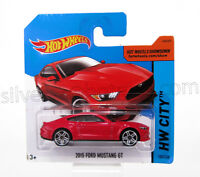 - ~ HOT WHEELS 2014 Ed. 'FORD 2015 Mustang GT (Red) '~ -