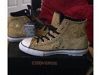 Converse All Star Leopard Print Hi Tops