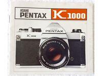 Pentax K1000 Manual