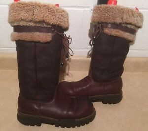 Women's Tall Insulated Winter Boots Size 8.5