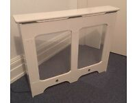 Winther Browne Radiator Cover - gloss white - customised