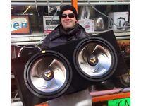 Pro-Plus Vulcan Double Bass Sub-woofer & MXSeries Amp