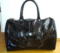 LOUIS VUITTON Handbag Purse Black -