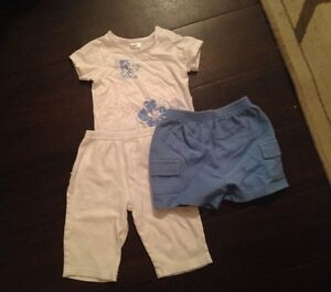 Comfy Outfit: pants, shorts and t-shirt ($2.00 only)