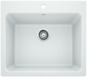 SILGRANIT LAUNDRY SINK--WHITE--BRAND NEW!!