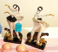 Duo de planters harlequin style Hedi Schoop, Japan