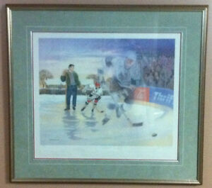 A Boy And His Dream James Lumbers Auto Framed