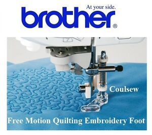 BROTHER sewing Free Motion/Hand Embroidery Quilting Darning Stippling Foot F005N
