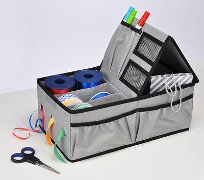 Band Organizer (Aufbewahrungsbox Tasche Organizer für Geschenkband & kleine Accessoires )