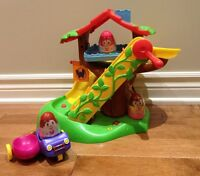 Weebles Tree House + Car