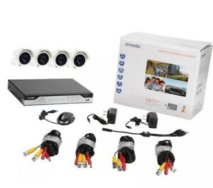 CCTV 8 Channel 960H DVR with 4cameras.