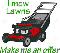 Lawn care services at a great rate !!!