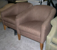 VARIOUS STYLES OF ACCENT CHAIRS AVAILABLE AT SOURCE LIQUIDATIONS