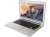 2013 13' Apple MacBook Air 1.8Ghz Core i5 4Gb Ram 128GB SSD Final Cut Pro X Final Draft Adobe 2017