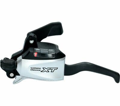 Shimano XT Freno Palanca de Cambios STM-760 Izquierda 3 Plano Plata Negro