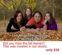 Fall Portraits In Our Studio?