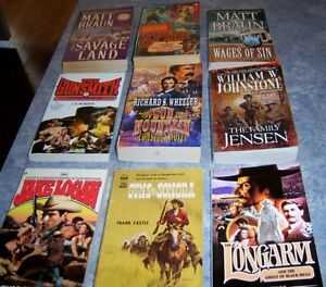 NOVELS - CLANCY- CLIVE CUSSLER - WESTERNS - ETC Kingston Kingston Area image 6