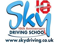 SKY DRIVING LESSONS / Automatic & Manual- Hackney, Ilford, Newham, Romford,Walthamstow & Enfield.