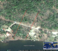 190 FEET WATERFRONT LOT ON APSEY LAKE IN TOWN OF ESPANOLA