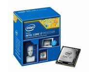 6 Core I7 5820K CPU plus MSI X99S SLI Plus Motherboard Combo