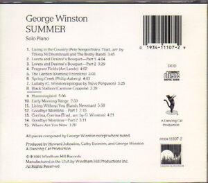 George Winston - Summer West Island Greater Montréal image 2