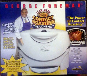 George Foreman Roaster- New!