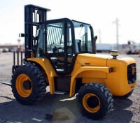 **BLOWING OUT**   2008 JCB 940 ALL TERRAIN FORKLIFT