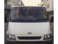 Y reg ford transit side londing door mot and tax