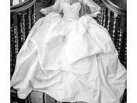 HOLLYWOOD DREAMS WEDDING GOWN & VEIL
