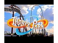 X2 Tickets For Thrope Park - Tues 26th July