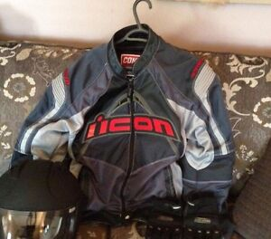 Icon Armour Motorcycle Jacket