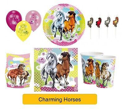 burtstags Party Auswahl Pony Geschirr Ballons & Dekorationen (Pferde-geburtstags-party)