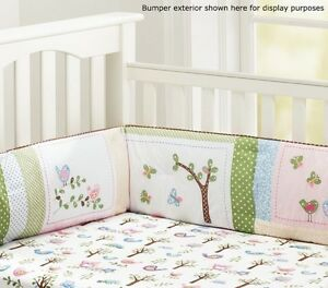 Pottery barn girls crib bedding