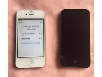 iPhone 4s 32gb + iPhone 4 16gb spare r repair