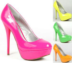 Neon-Patent-High-Stiletto-Heel-Platform-Pump-Qupid-Neutral-156