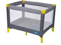 Baby start travel cot - brand new