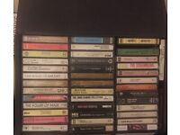 Collection of approx 150 cassette tapes: Random From80s:90s