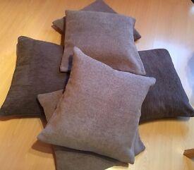 Bean seat x throw x 2 large cushions x 4 cushion covers x