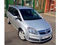 Vauxhall Zafira 2007 1.6L Only 80k 7 Seater Bargain!